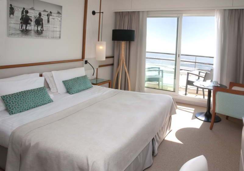 Comfort seafront room
