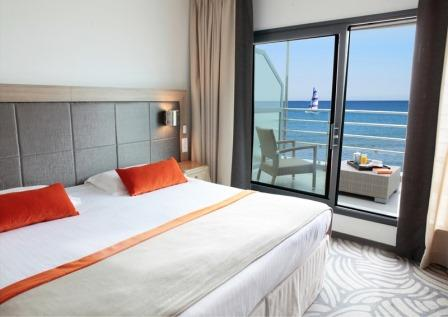Superior seafront room